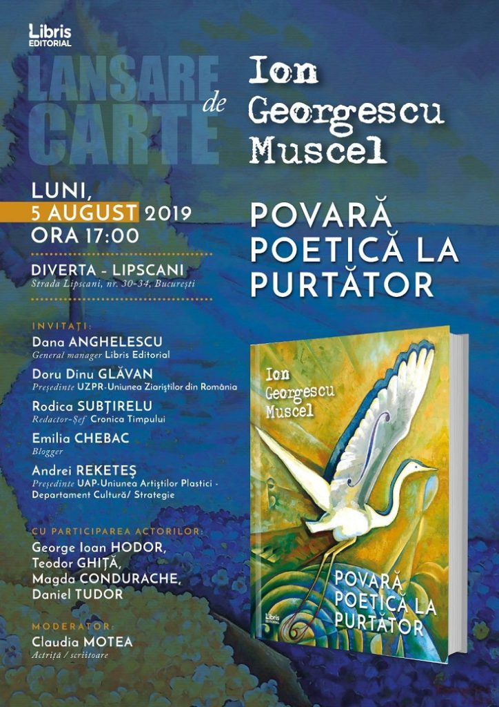 Book launch and painting POETIC BURDEN AT THE BEARER 